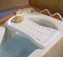 DuBaStar fürdető pad, 69 x 29 cm, fehér színben