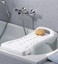 DuBaStar fürdető pad, 74 x 29 cm, fehér színben