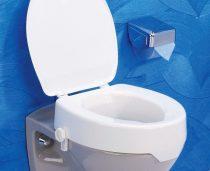 Easy-Clip WC magasító, tetővel, v nélkül