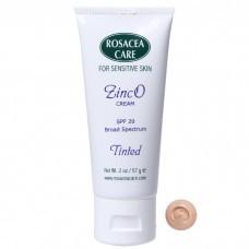 Rosacea Care Szinezett ZincO fényvédő SPF 20 (Tinted ZincO Cream)