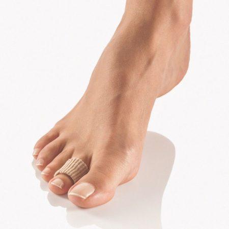 PediSoft® Textline lábujjgyűrű, textil
