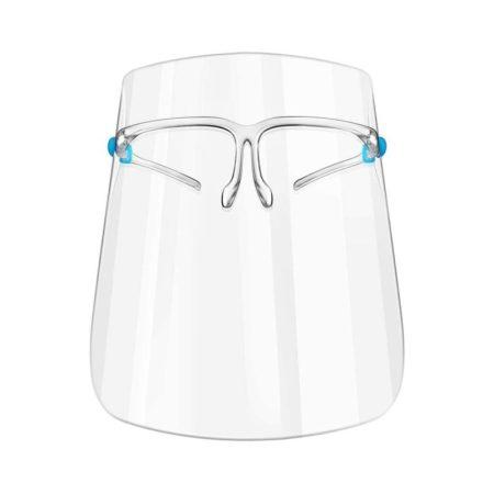 Szemüvegkeretes, Műanyag Arcvédő Pajzs