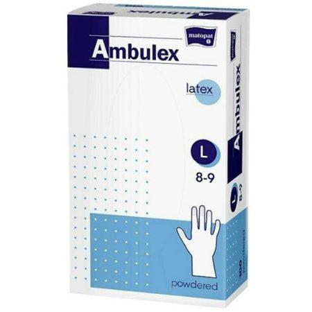 Ambulex Latex Vizsgálókesztyű