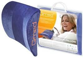 QMED LUMBAR SUPPORT –  Deréktámasz , kék