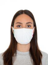 Hibrid maszk, felnőtt méret, 3 rétegű, antimikrobiális hatású ezüstionokkal,  2db/csomag.