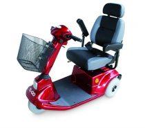 EL-GO Elektromos meghajtású, háromkerekű utcai moped